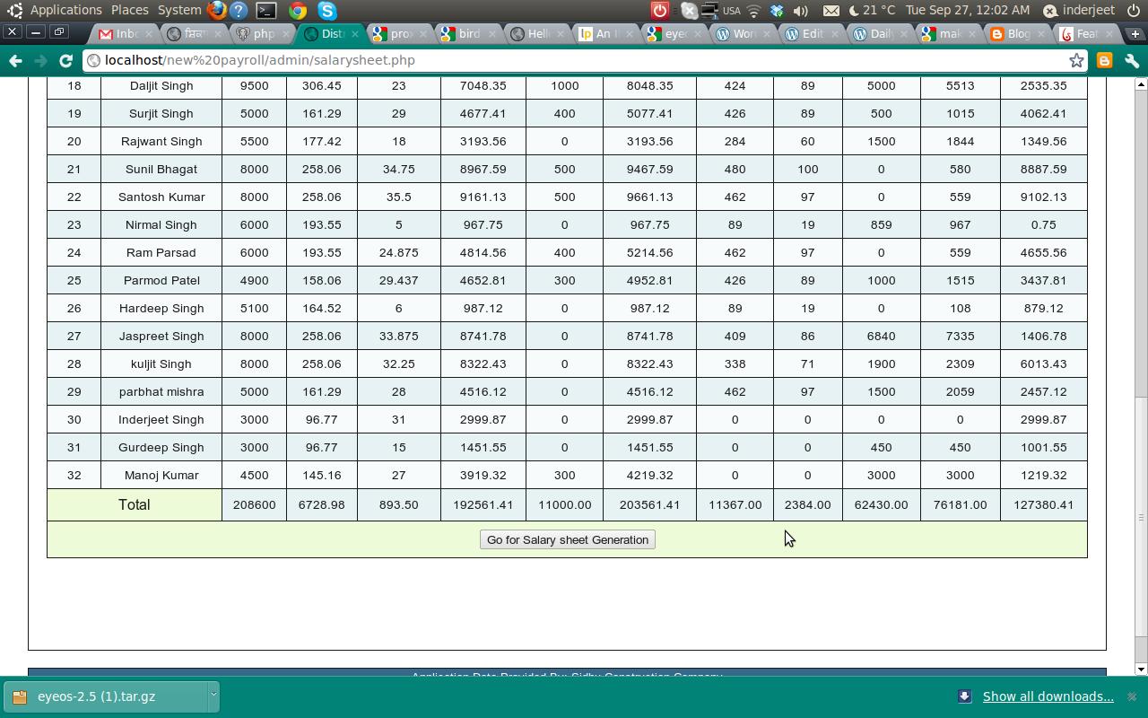 Salary sheets formats excel roho4senses salary sheets formats excel thecheapjerseys Images